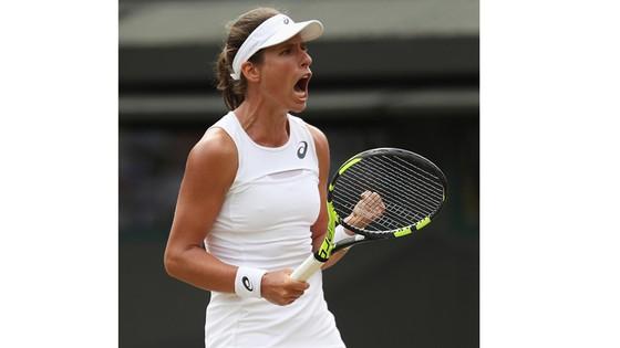 Johanna Konta - nhân tố tự hào của người Anh ở Wimbledon.