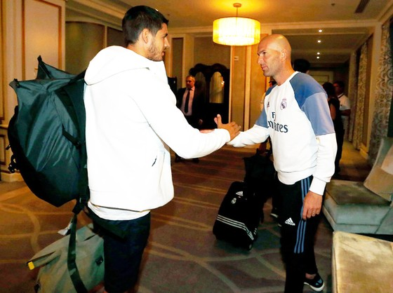 HLV Zidane thừa nhận bán Morata là tổn thất lớn của Real.