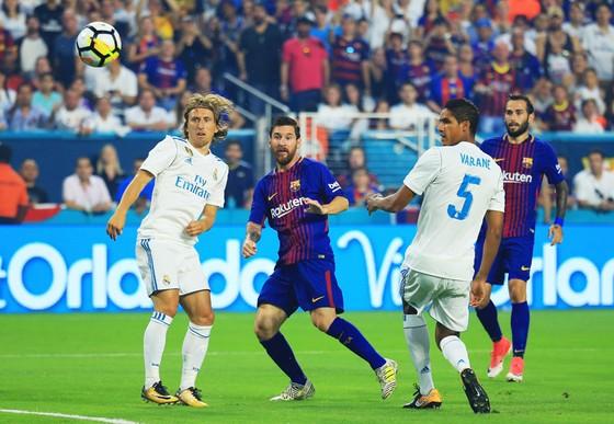 Messi có trận đấu xuất sắc trong vai trò nhạc trưởng.