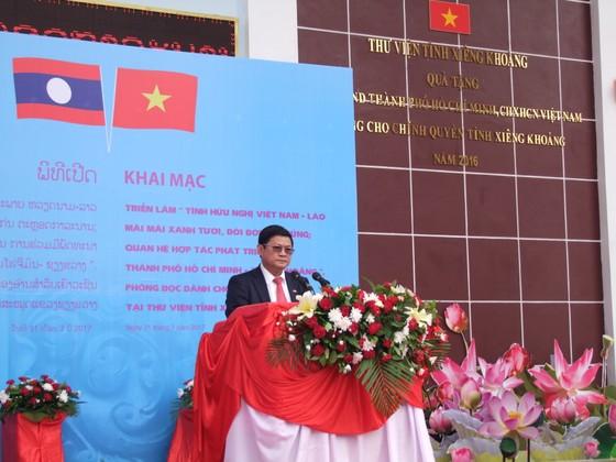 Khai mạc triển lãm ảnh quan hệ Việt Nam - Lào, TPHCM - Xiêng Khoảng ảnh 1