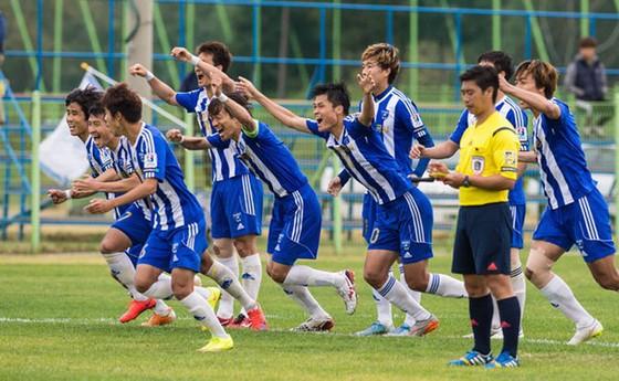 U22 Việt Nam sẽ gặp CLB Mokpo City ở trận đầu tiên tại Hàn Quốc.   Ảnh: T.L