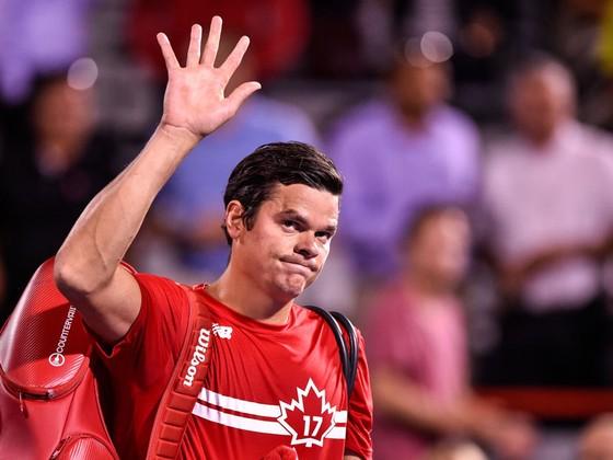 Milos Raonic là tay vợt Canada mới nhất phải rời khỏi Rogers Cup.