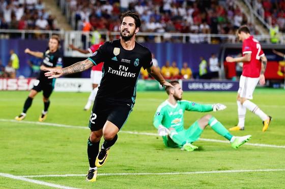 Isco vừa có màn trình diễn xuất sắc trước Man.United.