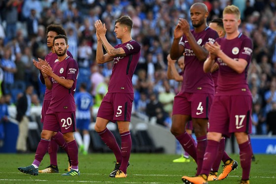 Cầu thủ Man.City hài lòng với khởi đầu tốt đẹp.