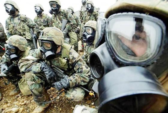 Hàn Quốc và Mỹ diễn tập loại bỏ vũ khí hủy diệt hàng loạt  ảnh 1