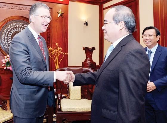 Lãnh đạo TPHCM đánh giá cao quan hệ đối tác toàn diện Việt Nam - Hoa Kỳ ảnh 1