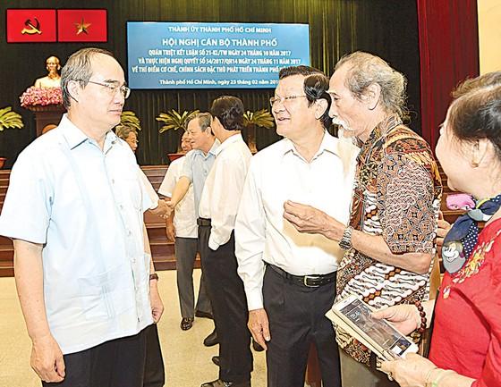 Bí thư Thành ủy TPHCM Nguyễn Thiện Nhân: Đột phá công tác cán bộ, triển khai hiệu quả cơ chế đặc thù ảnh 1