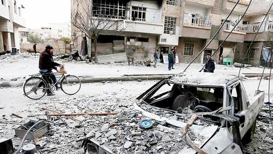 """""""Khoảng dừng nhân đạo"""" ở Syria ảnh 1"""