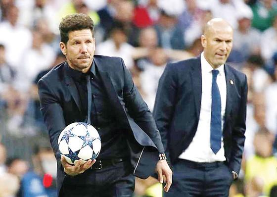 Simeone và Zidane đều không còn tâm trí dành cho La Liga
