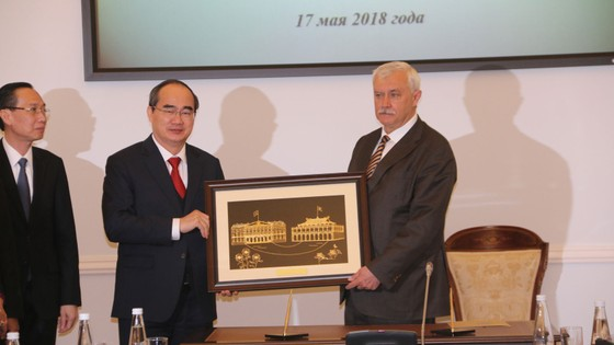 Trang trọng kỷ niệm 95 năm ngày Chủ tịch Hồ Chí Minh lần đầu tiên đến Nga ảnh 3