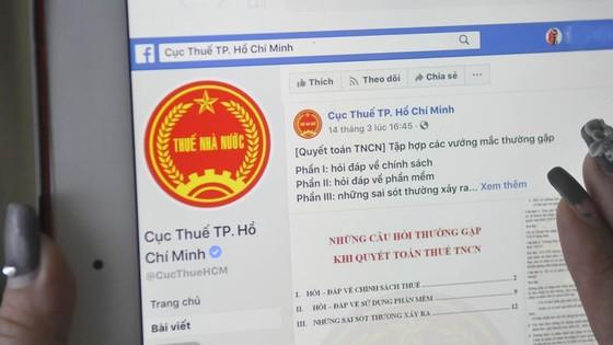 Sử dụng mạng xã hội để giảm áp lực trong quyết toán thuế ảnh 1