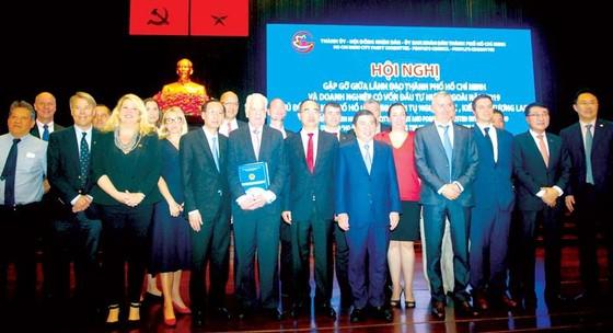 Lãnh đạo TPHCM gặp gỡ doanh nghiệp FDI:  Cam kết môi trường đầu tư minh bạch, thuận lợi ảnh 2