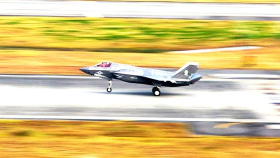 Chiến đấu cơ F-35B đâm phải chim, mất 2 triệu USD ảnh 1