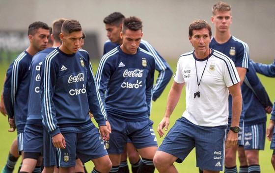 U20 Argentina xem chuyến đi đến Việt Nam là quan trọng để hướng đến thành công. Ảnh: T.L