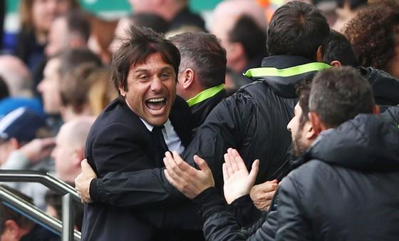 Antonio Conte đã tự tin hơn đến cơ hội đăng quang của Chelsea.