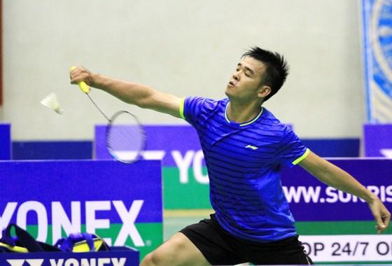 Tay vợt Hồ Nguyễn Vinh Quang lọt vào tốp 4 giải năm nay. Ảnh: Thiên Hoàng