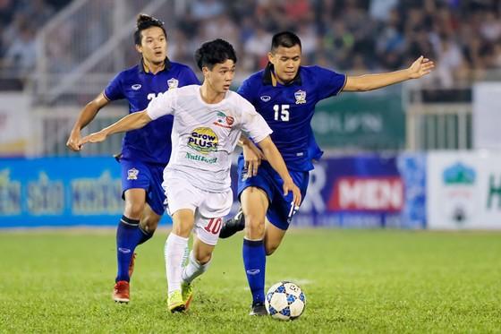 Năm ngoái, U21 Thái Lan từng hạ gục thế hệ vàng của HAGL với tỷ số 1-0. Ảnh: Hoàng Hùng