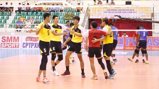 Việt Nam đứng đầu bảng Giải bóng chuyền các CLB nam châu Á 2017