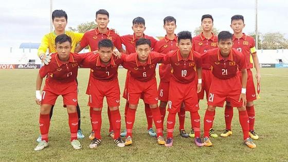 Đội hình xuất phát của Việt Nam gặp Philippines. Ảnh: VFF
