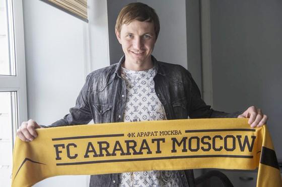 Roman Pavlyuchenko gia nhập FC Ararat Moskva - Giấc mơ Armenia
