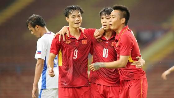 U22 Việt Nam có thêm trận thắng đậm thứ 3. Ảnh: Dũng Phương
