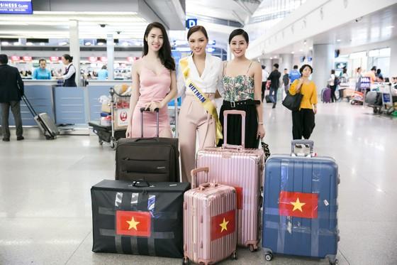 Hoàng Thu Thảo chính thức lên đường dự thi Miss Global Beauty Queen 2017 ảnh 1