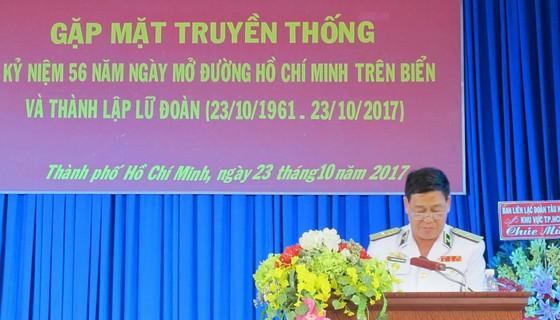Lữ đoàn 125 kỷ niệm 56 năm Ngày mở đường Hồ Chí Minh trên biển ảnh 1