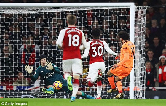Arsenal và Liverpool chia điểm trong trận cầu kịch tính ảnh 1