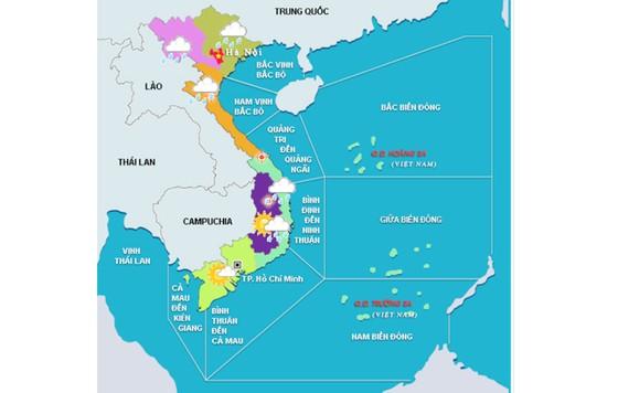 Tháng 1-2018, vẫn còn nguy cơ bão hoặc ATNĐ ảnh hưởng đến Nam Trung Bộ trở vào Nam Bộ ảnh 1