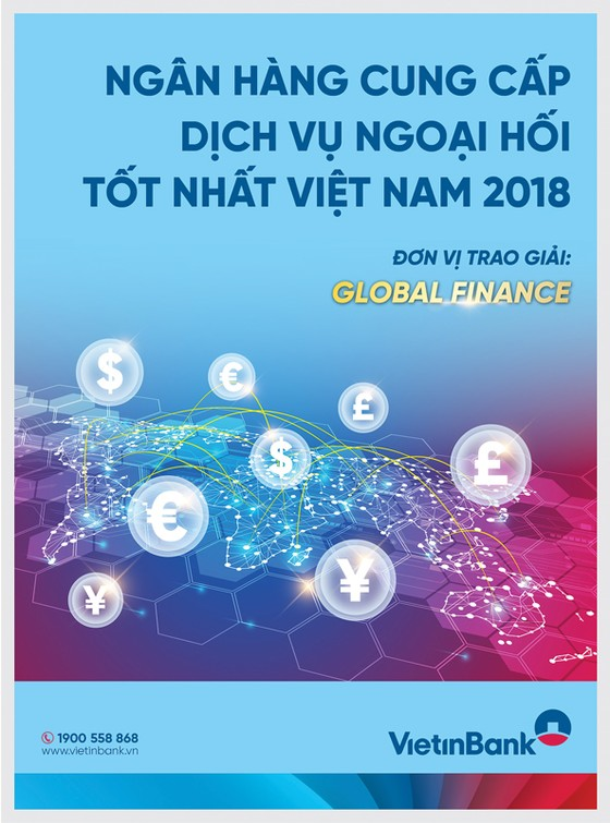 """VietinBank """"Cung cấp dịch vụ ngoại hối tốt nhất Việt Nam 2018"""" ảnh 1"""