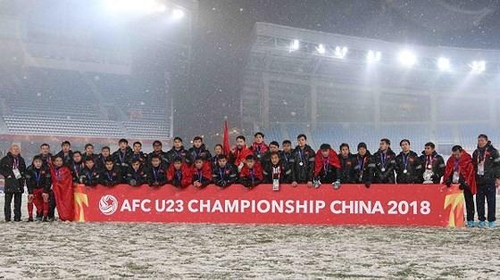 Đội U23 Việt Nam trở thành đương kim Á quân của châu Á năm 2018