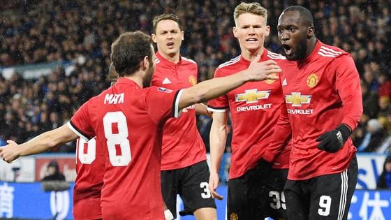 Romelu Lukaku (9) tỏa sáng, mang lại chiến thắng cho Man.United