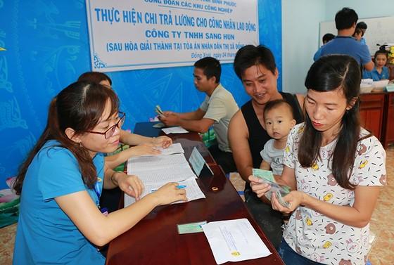 Vụ kiện do chủ Công ty Sang Hun tại Bình Phước bỏ trốn: Công nhân đã nhận được đầy đủ tiền lương ảnh 1