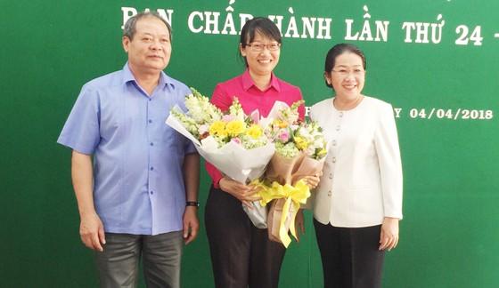 Bà Trần Thị Diệu Thúy được bầu làm Chủ tịch LĐLĐ TPHCM ảnh 1