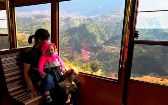 Cảnh sắc Tây Bắc có một không hai nhìn từ tàu hỏa leo núi Mường Hoa ảnh 5