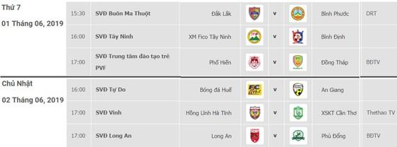Lịch thi đấu vòng 9 - Giải hạng nhất Quốc gia LS 2019 (ngày 1 và 2-6) ảnh 1
