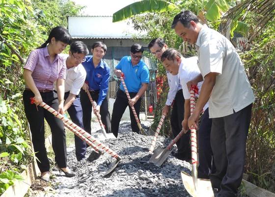 Khánh thành tuyến hẻm giao thông nông thôn tại huyện Bình Chánh ảnh 5
