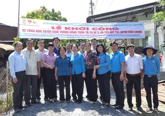Khánh thành tuyến hẻm giao thông nông thôn tại huyện Bình Chánh ảnh 4