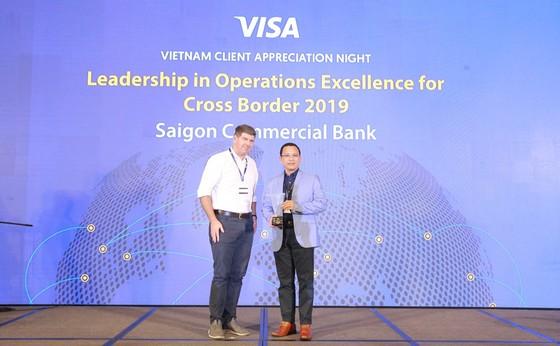 SCB tiếp tục đoạt Giải thưởng về hoạt động vận hành giao dịch thẻ tại nước ngoài ảnh 1