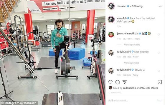 Bất ngờ với kỳ nghỉ của Salah