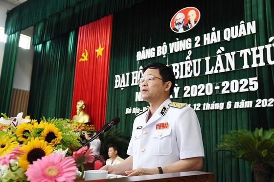 Khai mạc Đại hội đại biểu Đảng bộ Vùng 2 Hải quân lần thứ III nhiệm kỳ 2020 -2025 ảnh 1