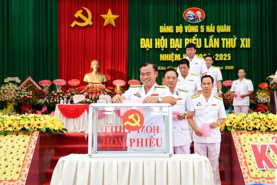 Đại hội đại biểu Đảng bộ Vùng 5 Hải quân lần thứ XII, nhiệm kỳ 2020-2025  ảnh 1