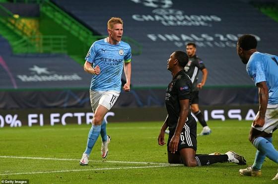 Lyon bất ngờ hạ gục Man.City để tiến vào bán kết Champions League 2020 ảnh 1