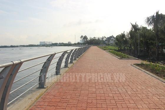 Hoàn thành công trình chống sạt lở bờ sông Sài Gòn ảnh 1