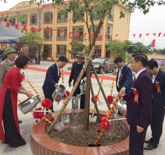 PV GAS tài trợ xây dựng Trường THCS Đông Á, Thái Bình ảnh 4