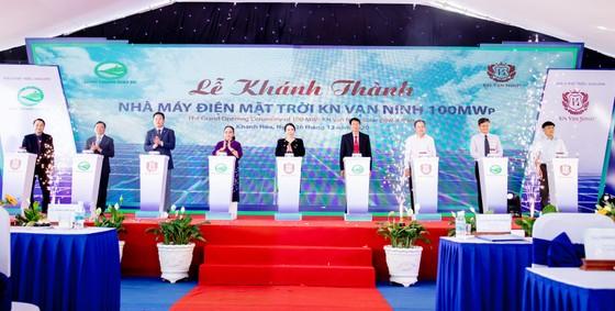 Khánh thành Dự án Nhà máy điện mặt trời KN Vạn Ninh 100 MWp ảnh 1