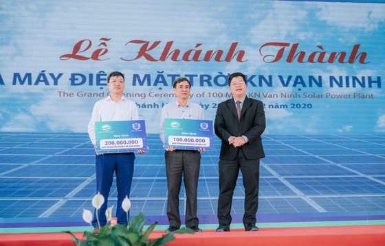 Khánh thành Dự án Nhà máy điện mặt trời KN Vạn Ninh 100 MWp ảnh 3
