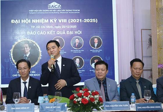 Ông Lê Viết Hải, Chủ tịch HĐQT Tập đoàn Xây dựng Hòa Bình, làm Chủ tịch Hiệp hội Xây dựng và Vật liệu xây dựng TPHCM ảnh 1