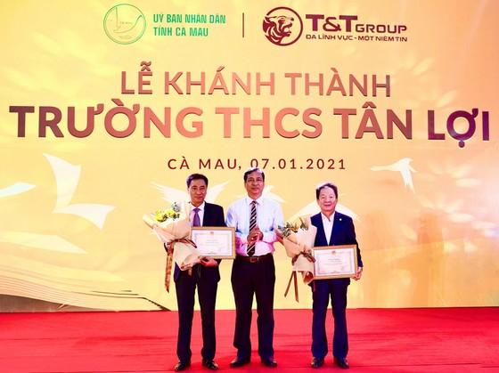 Tập đoàn T&T Group tài trợ xây dựng trường học tại tỉnh Cà Mau ảnh 1