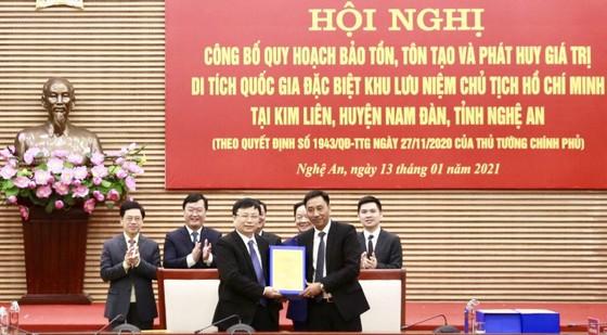 Công bố quy hoạch bảo tồn, tôn tạo và phát huy giá trị Khu lưu niệm Chủ tịch Hồ Chí Minh tại Nghệ An ảnh 2